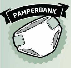 Pamperbank landt in